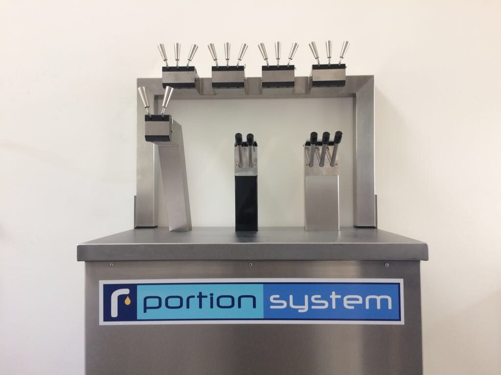 Portion System sauspomp - mayonaise pomp